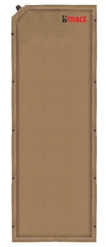 Ковер самонадувающийся BTrace Warrm Pad 3 M0206 коричневый 190x60x3см
