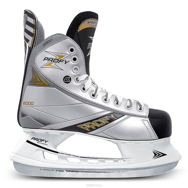 Хоккейные коньки СК Profy Z 2000 ПГ коньки onlitop 223f 37 40 blue 806164