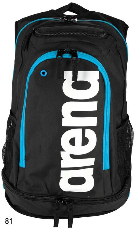 Рюкзак Arena Fastpack Core black/turquoise/white (000027 581) черн/син.