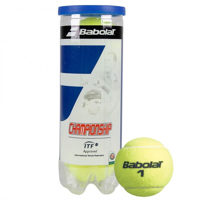 Купить Мяч теннисный 3 шт. Babolat Championship 3B 501039,