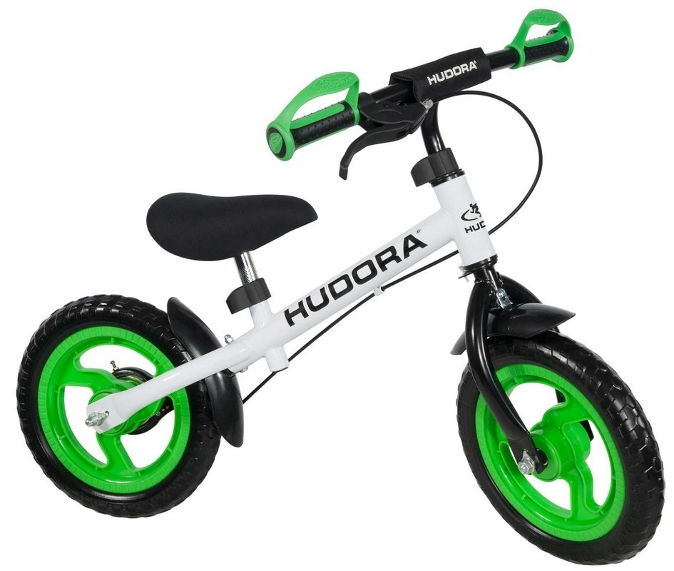 Беговел Hudora Laufrad Ratzfratz Green