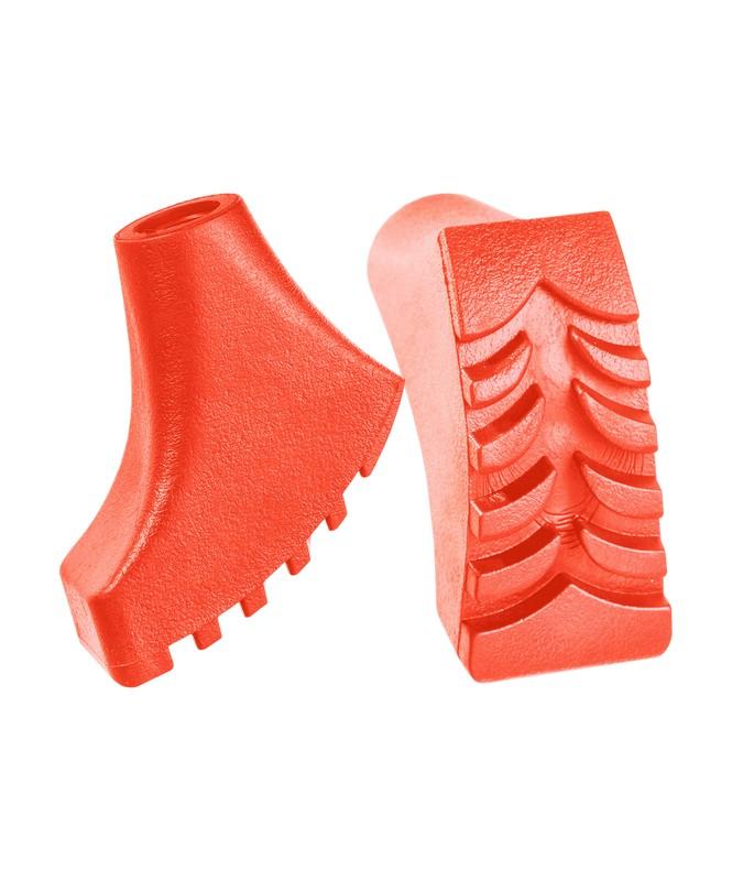 Комплект наконечников для скандинавских палок Berger 2 шт оранжевый