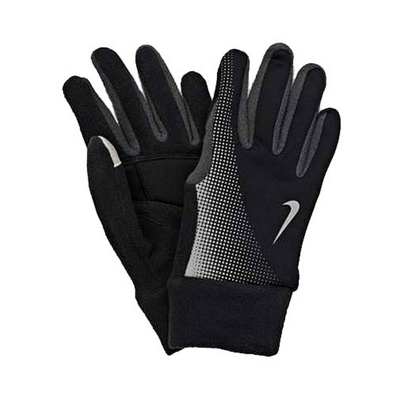 Перчатки для бега Nike Men'S Thermal Tech Running Gloves Black/Anthracite ноутбук lenovo ideapad 320 17ikbr 81bj003nru intel core i5 8250u 1 6 ghz 8192mb 1000gb no odd nvidia geforce mx150 4096mb wi fi bluetooth cam 17 3 1920x1080 dos