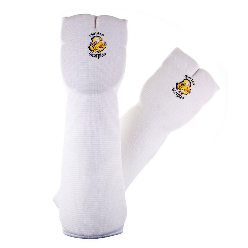 Защита предплечья для карате Golden Scorpion 3580 white
