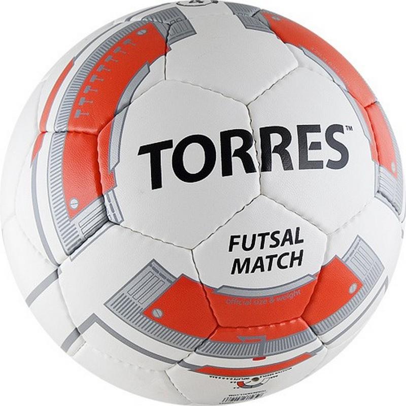 Мяч футзальный Torres Futsal Match F30064 р.4 мяч футзальный select futsal talento 11 852616 049 р 3