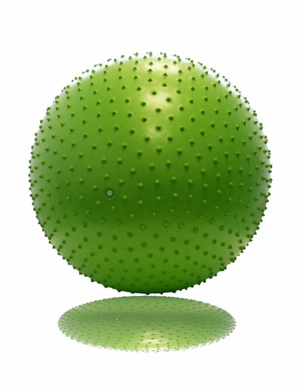 Гимнастический мяч с массажным эффектом 65 см Original Fit.Tools FT-MBR65 гимнастический шар 65 см