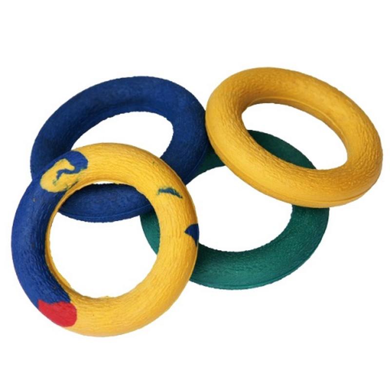 Эспандер кистевой кольцо 10кг. d-70мм гладкий (цветной) 23001-AR фото