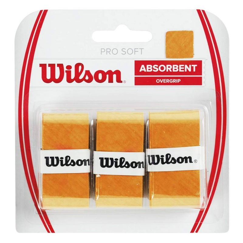 Овергрип Wilson Pro Soft Overgrip желтый