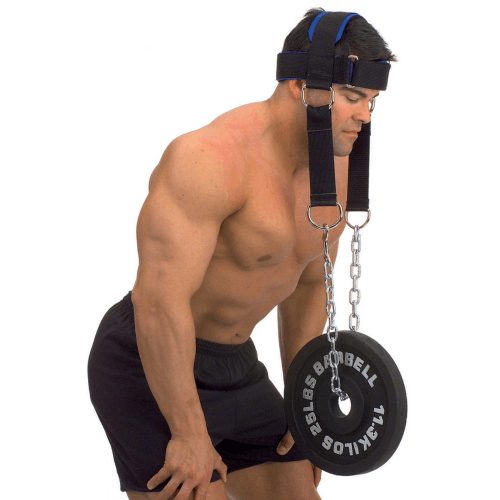 Упряжь для тренировки мышц шеи нейлон Body Solid MA307N от Дом Спорта