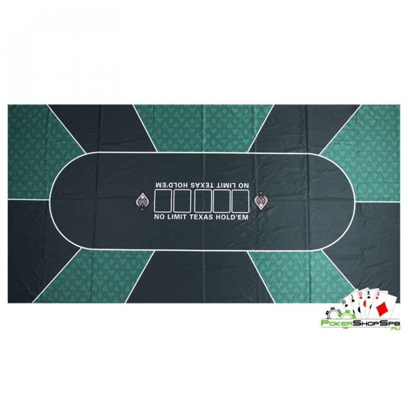 Сукно для покера suknogreen 180х90х0,2см, зеленое