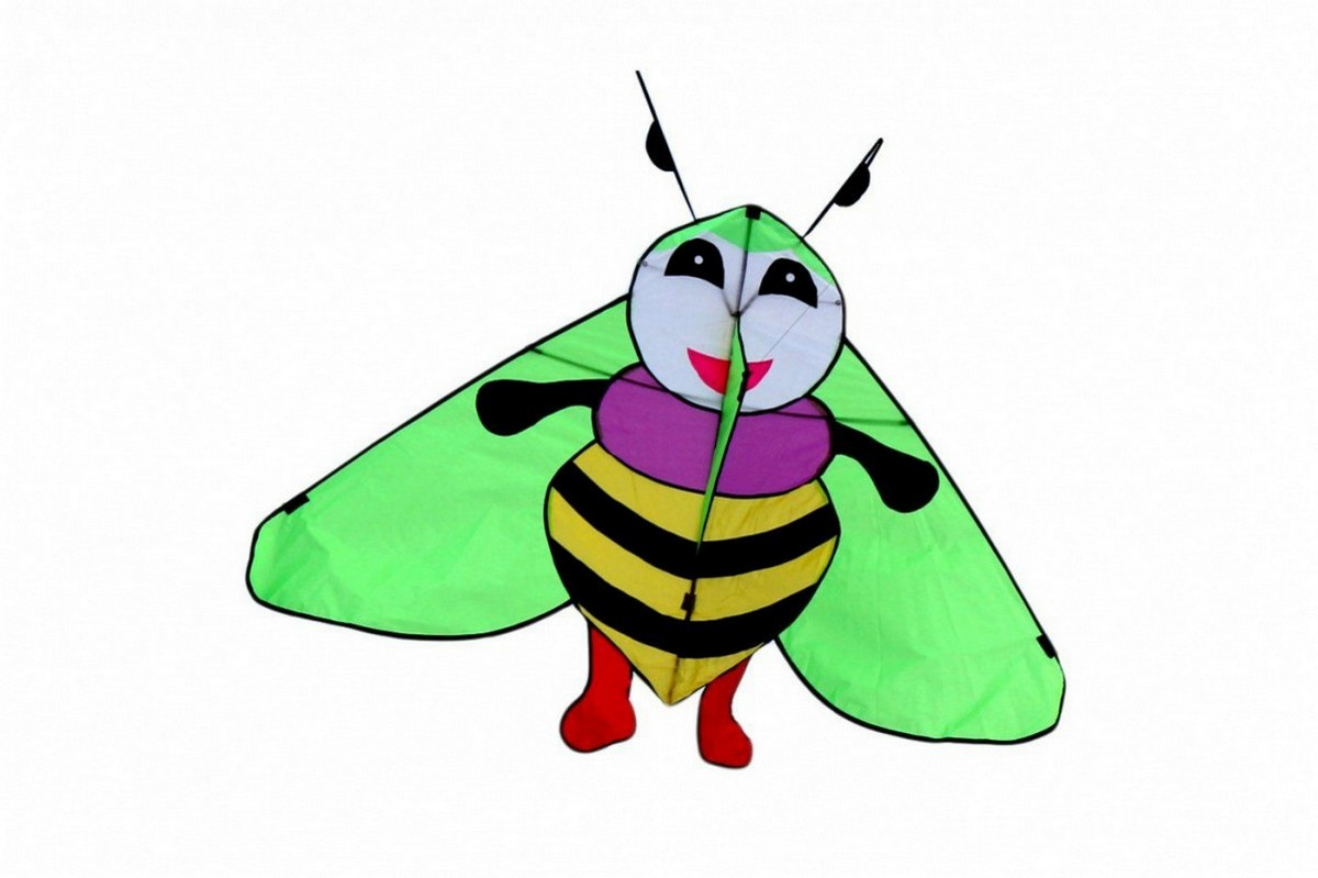 Купить Воздушный змей Bradex Пчелка Мия DE 0284, Игры на свежем воздухе