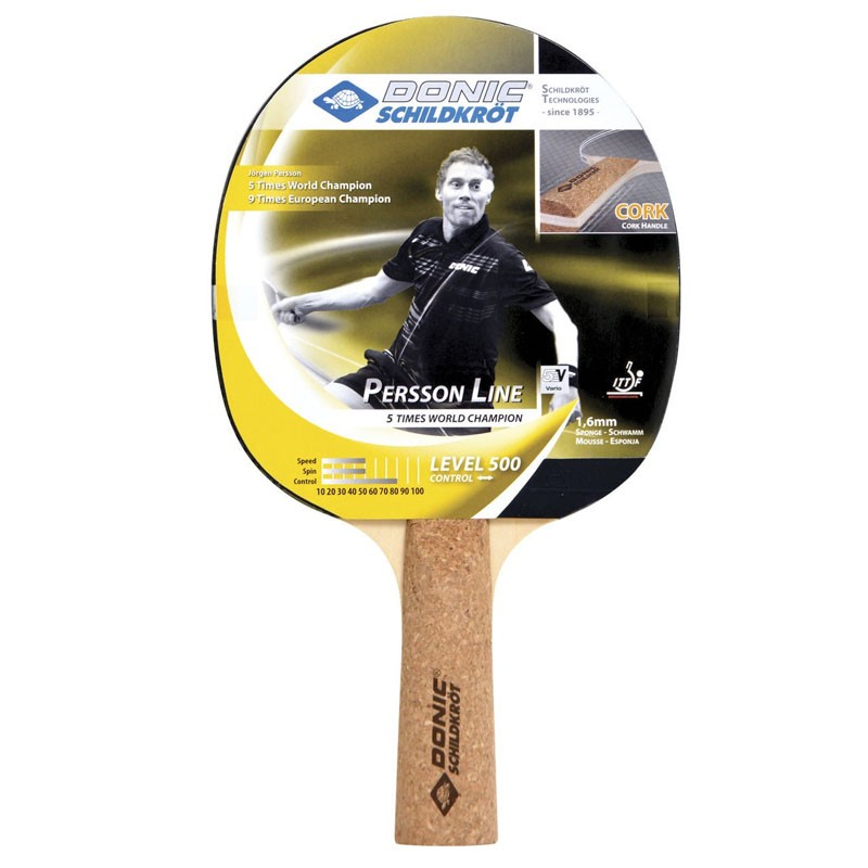 Ракетка для настольного тенниса Donic Schidkroet Persson 500 728451 цена