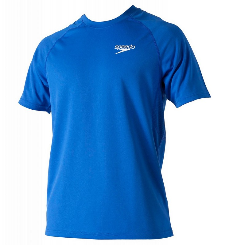 Футболка Speedo Signature Unisex technical T-shirt (101) синяя