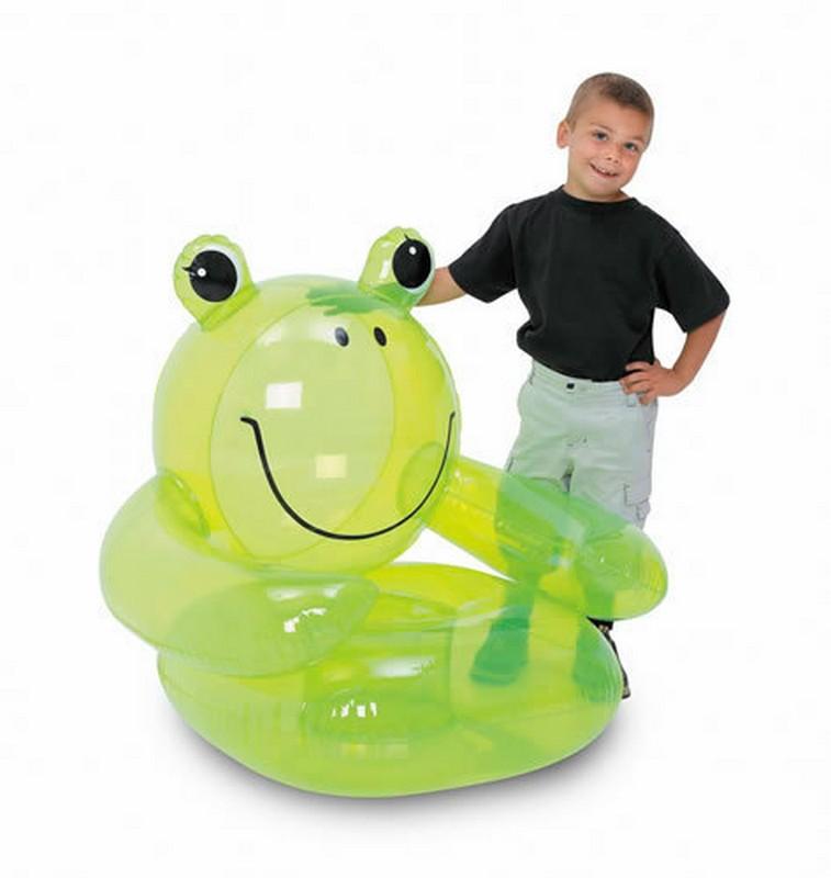 Надувное кресло лягушка Bestway 75025
