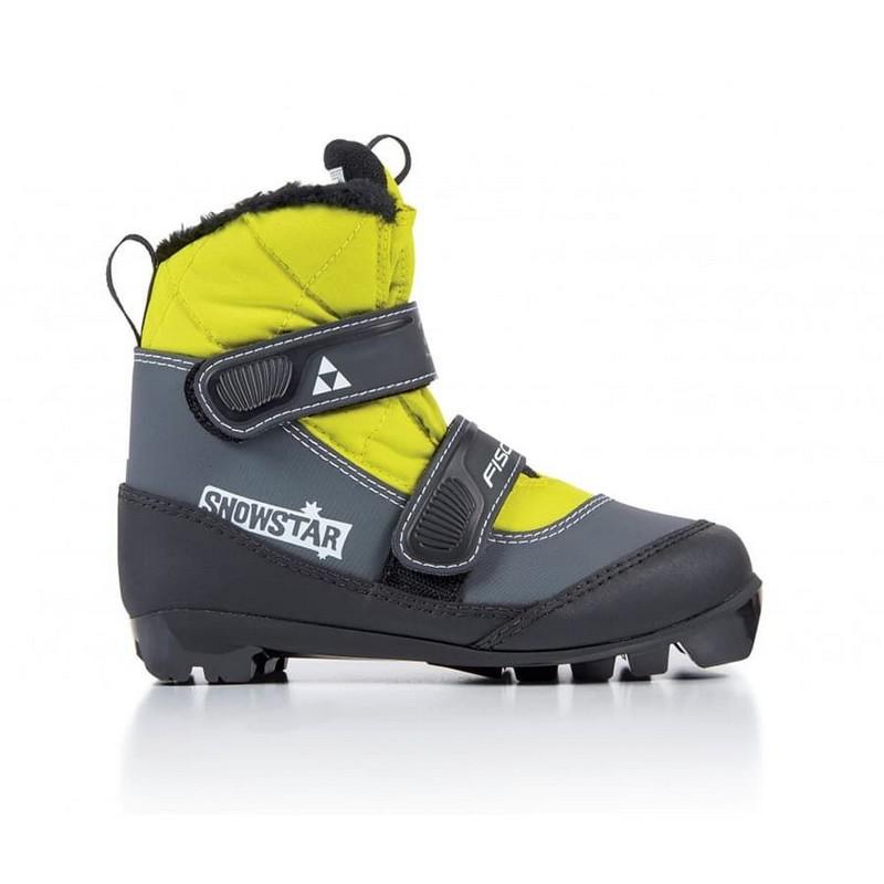 Лыжные ботинки NNN Fischer Snowstar S41017 black yellow