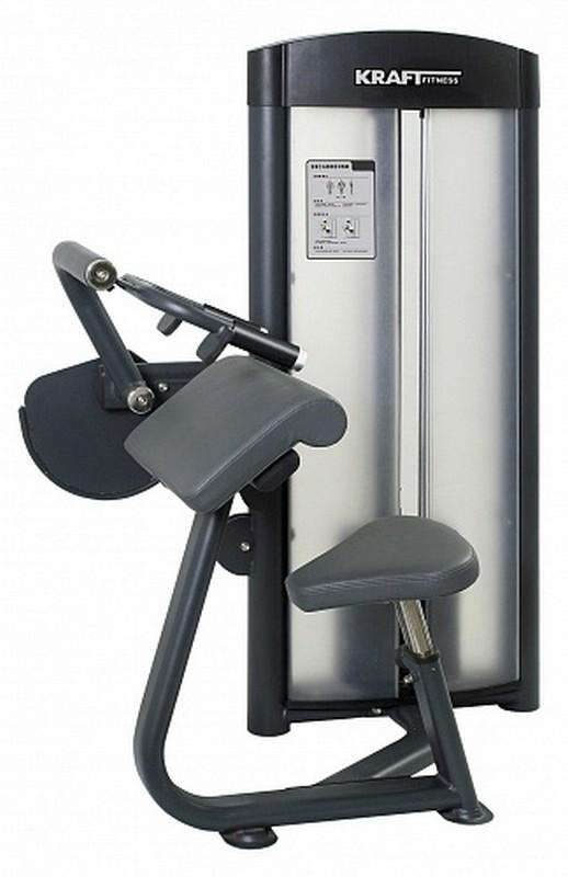 Трицепс машина Kraft Fitness KFTE бицепс трицепс машина с весовым стеком 72 5 кг body solid s2btp 1