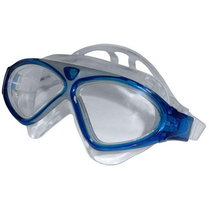 Купить Очки-маска для плавания Anti-fog 8170-1 голубой, NoBrand
