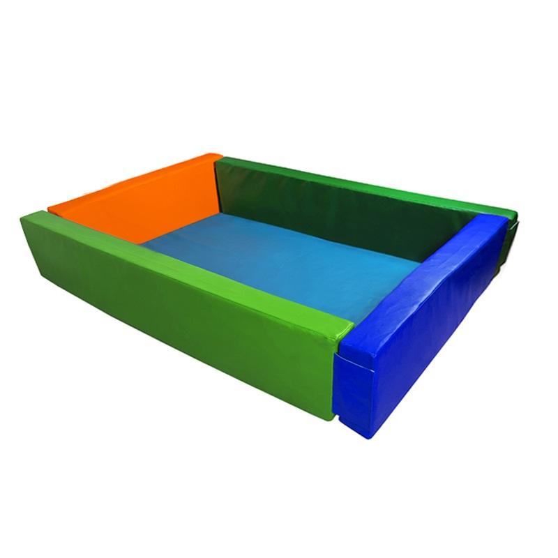 Купить Сухой бассейн прямоугольный 2000х1500х600х100 мм (наполнитель холлослеп/холлофайбер) Dinamika ZSO-003055, Сухие бассейны