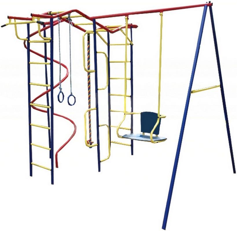 Купить Детский спортивный комплекс Пионер Вираж Дуэт, ДСК для улицы