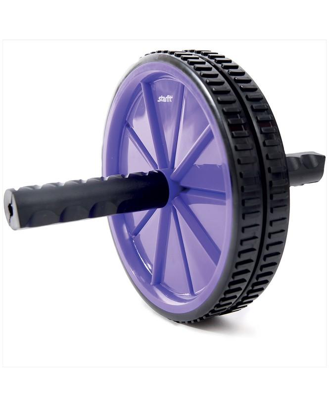 Купить Ролик для пресса Star Fit RL-101 фиолетовый-черный,