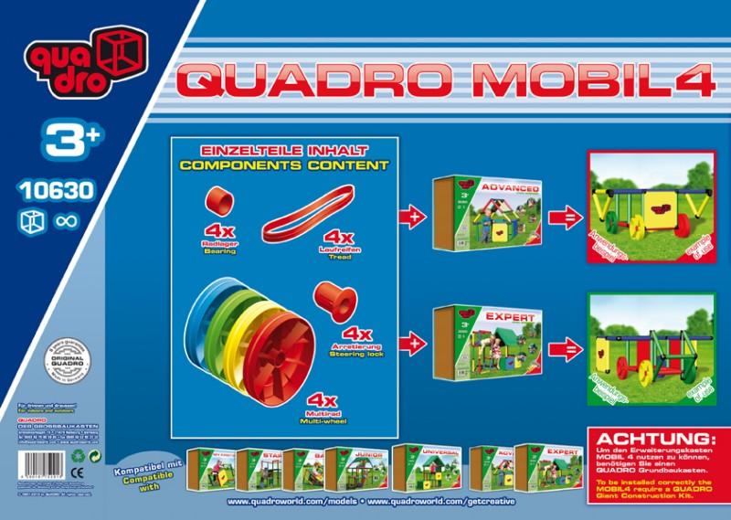 Quadro мобиль 4 колеса 10630,  - купить со скидкой