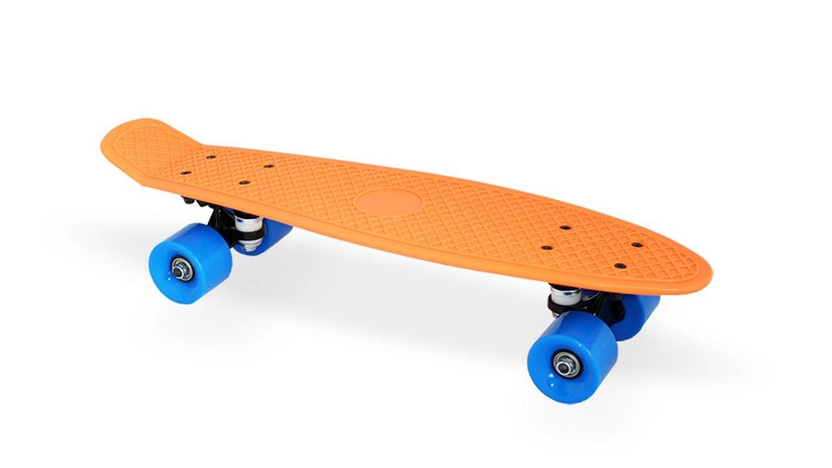 Скейт пластиковый 22х6 quot; Moove Fun PP2206-1 orange скейт пластиковый 22х6 quot moove fun pp2206 1 yellow