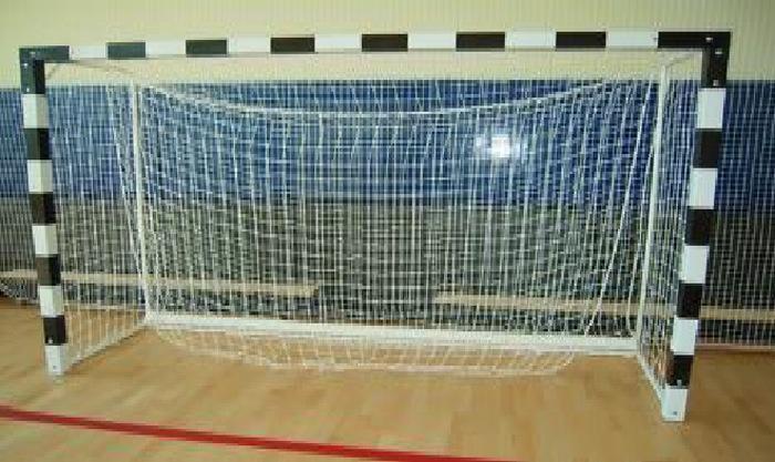 Сетка мини-футбольная ZSO (гандбольная )D=2,6 мм 200x300 цена