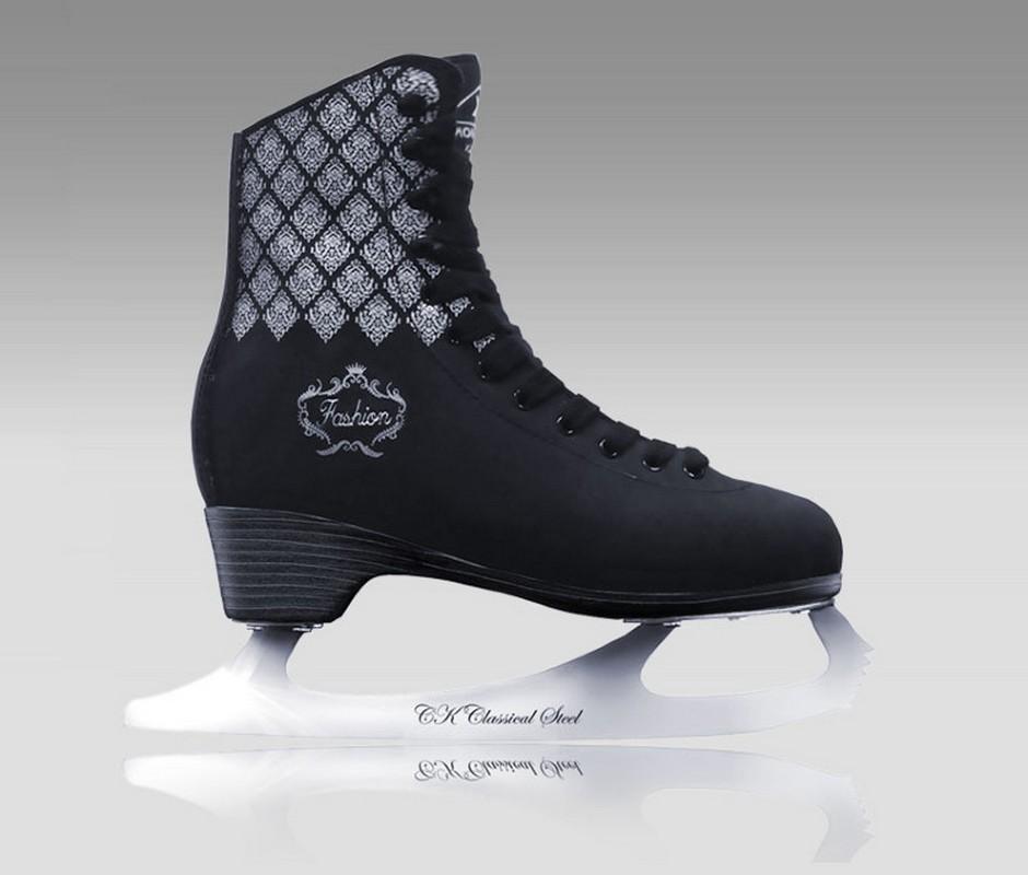 Фигурные коньки СК Fashion Lux Black