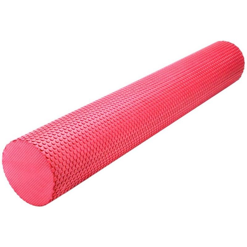 Купить Ролик массажный для йоги 90х15см B31603-3 красный, NoBrand