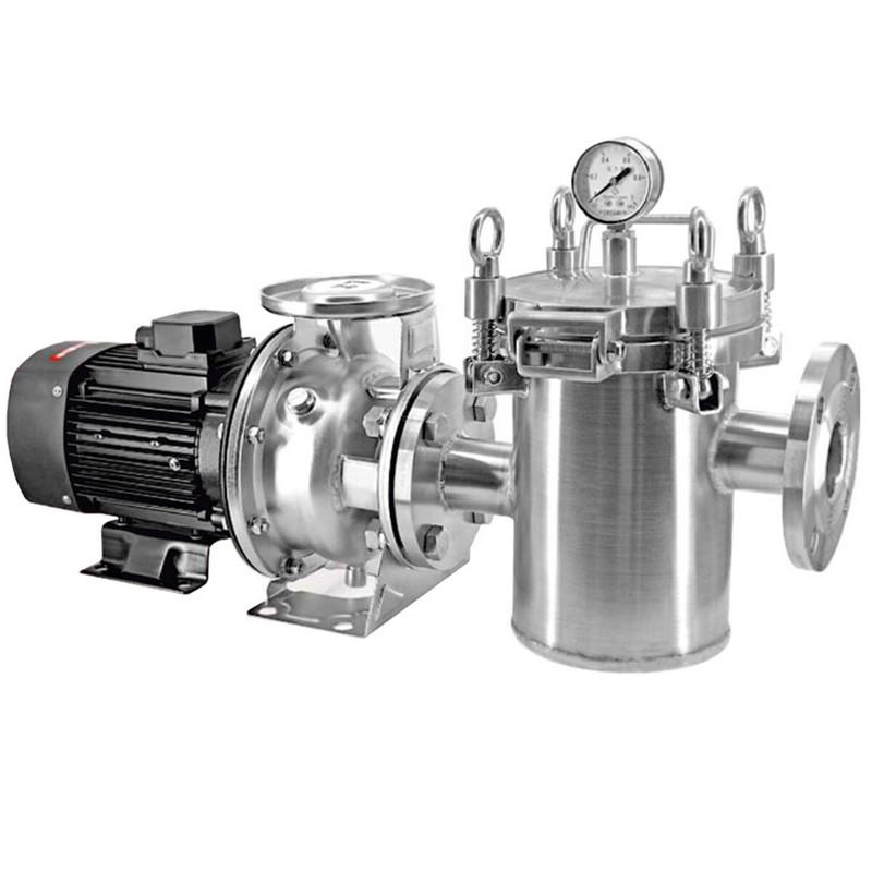 Насос AquaViva LX SCA100-80-160/11T (380V, пф, 158m3/h*20m, 11kW, 15HP) AISI 304,  - купить со скидкой