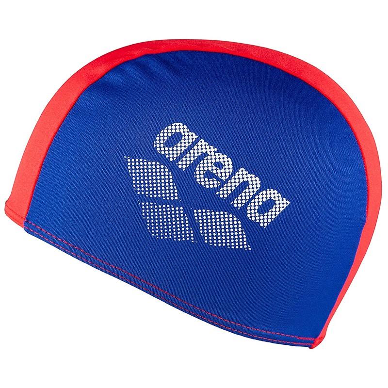 Купить Шапочка для плавания Arena Polyester II Jr, 002468740, детская, сине-красный,