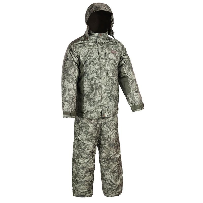 Костюм Huntsman Амур со снегозащитными гетрами тк.Taslan, am_100-016 Графика болото
