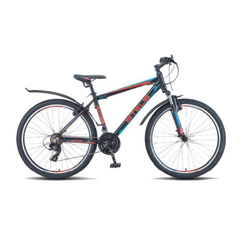 Купить Велосипед Stels Navigator 620 V V010 2017 ЧёрныйКрасныйСиний (LU088805),