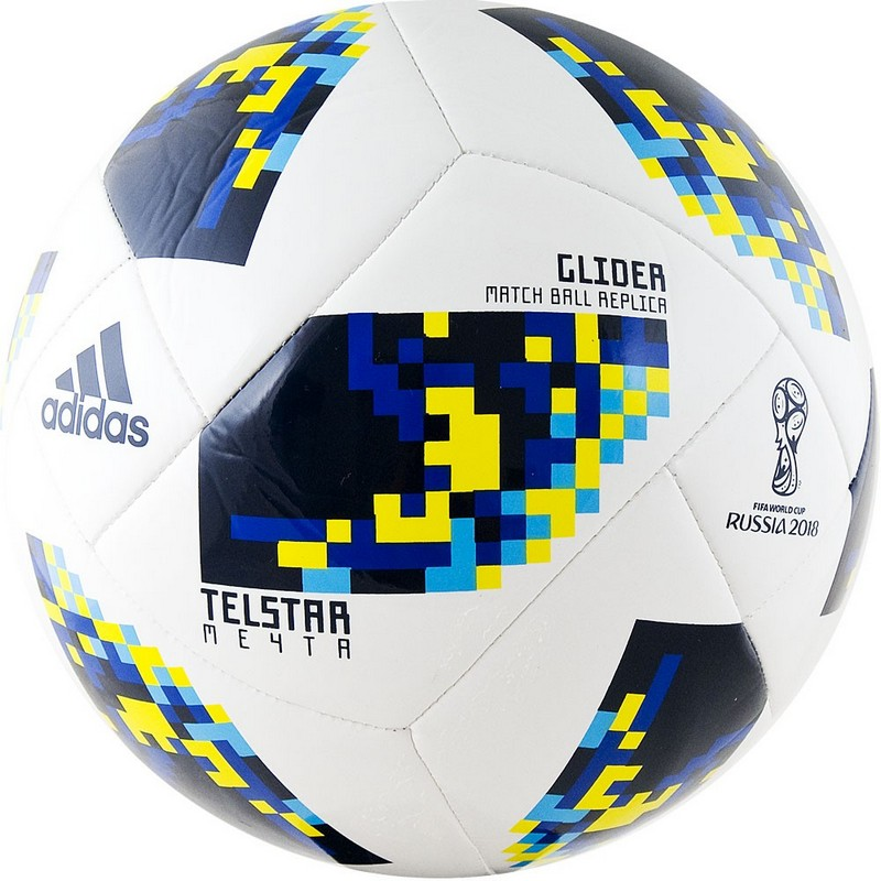 Мяч футбольный Adidas WC2018 Telstar Мечта Glider CW4688 р4