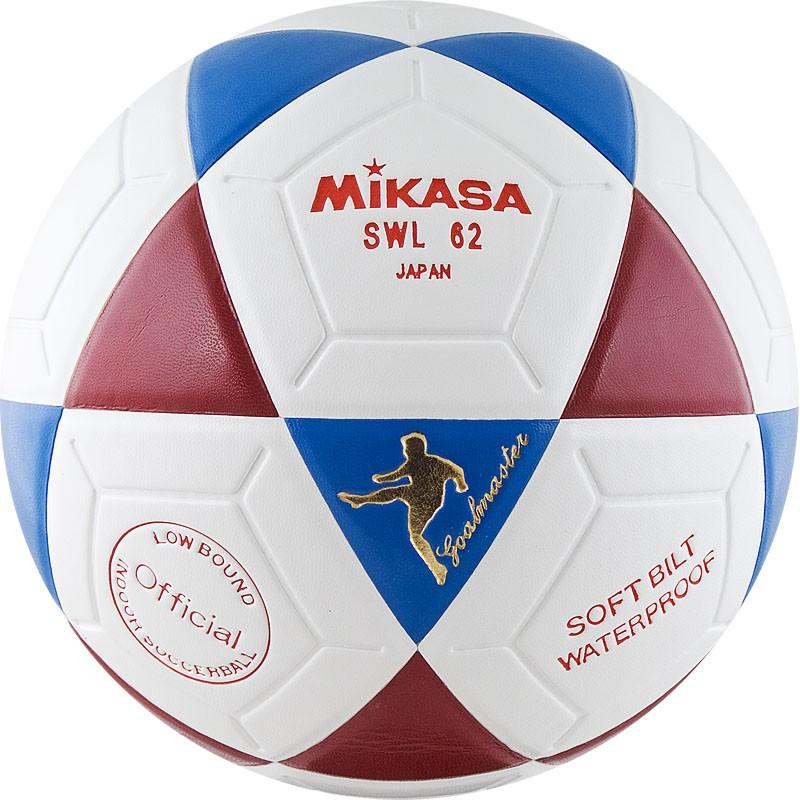 Мяч футбольный профессиональный Mikasa SWL 62 BR размер 4 мяч футбольный nike premier х sc3092 102 р 4 fifa quality pro