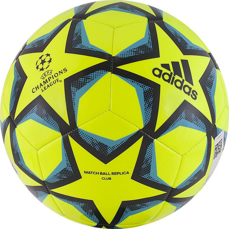 Купить Мяч футбольный Adidas Finale 20 Club FS0259 р.4 желто-сине-черный,
