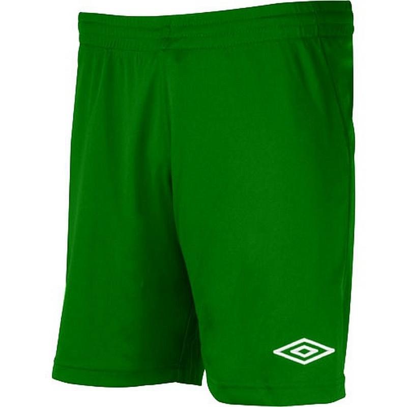 Трусы игровые Umbro League knit short мужские 62159U (017) зеленые