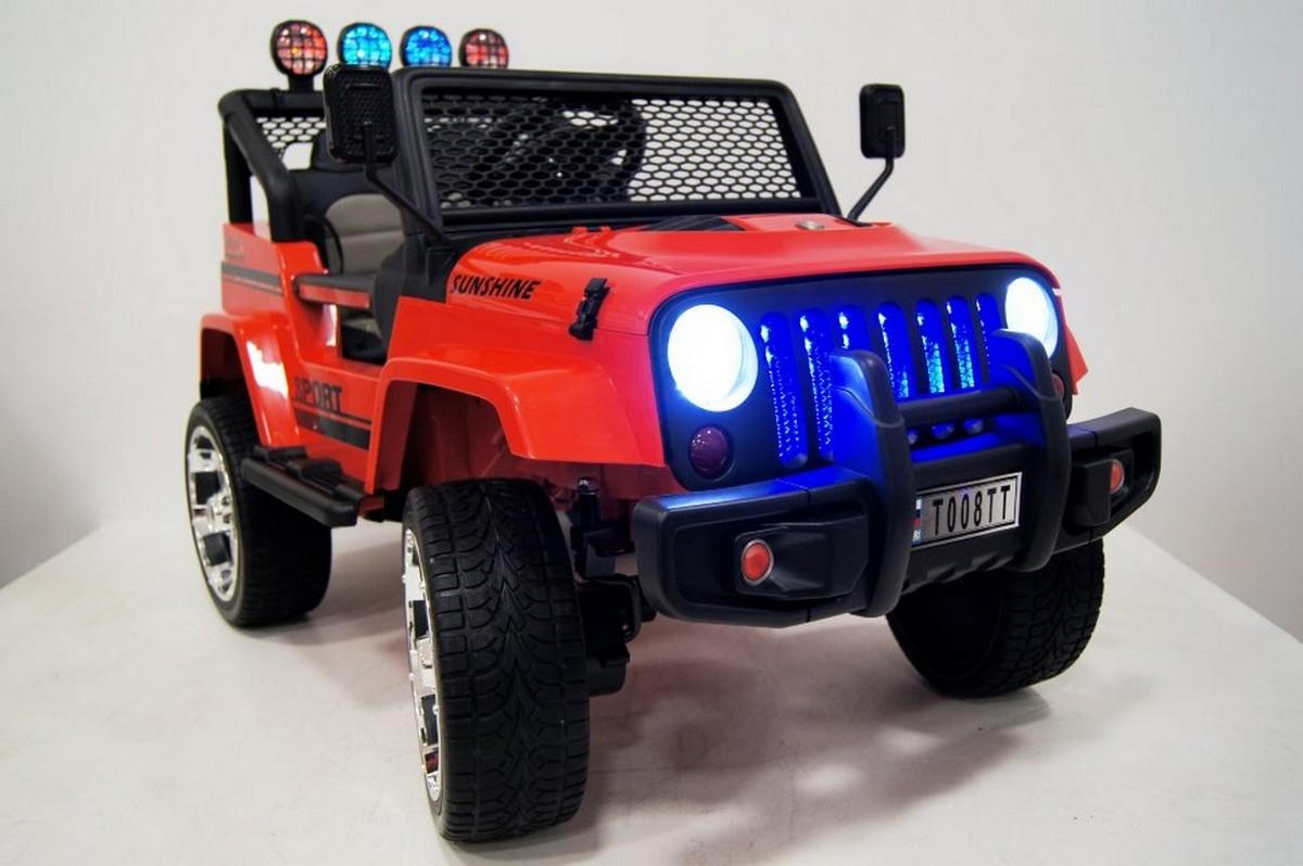 Детский электромобиль River-Toys Jeep T008TT  с дистанционным управление