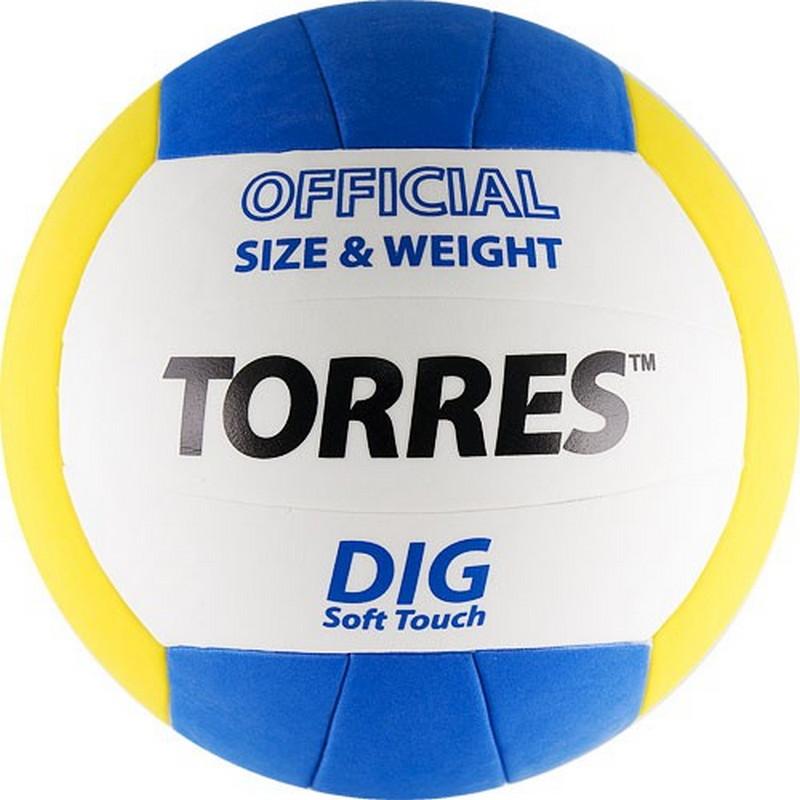 Купить Волейбольный мяч Torres Dig р.5 V20145,