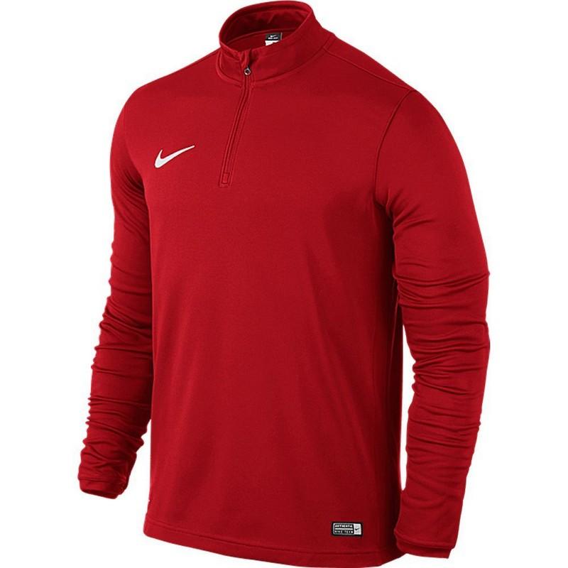 Свитер тренировочный Nike Academy16 Midlayer Top 725930-657 мужской, красный свитера толстовки nike свитер тренировочный nike ls academy 14 midlayer 588471 657