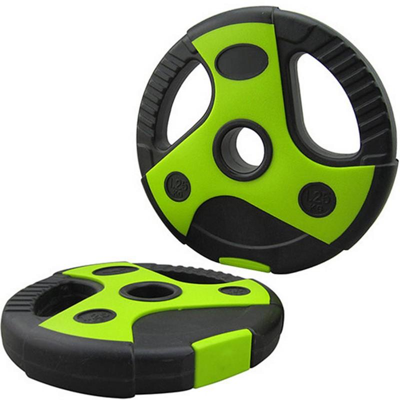 Диск пластиковый, цемент, d26 мм, 2,5 кг CPL-200 чёрный с зелеными вставками фото