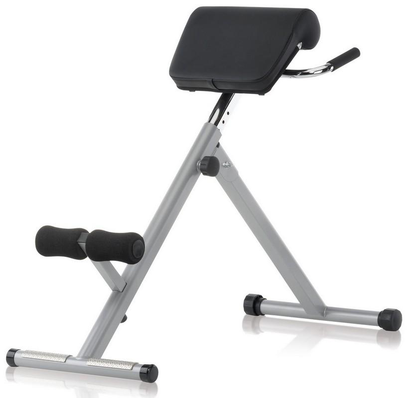 Скамья для гиперэкстензии Kettler Axos 7629-300 серый-черный теннисный стол kettler axos indoor 3 серый