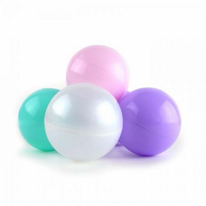 Купить Набор шаров для сухого бассейна Kampfer Pastel 67394 розовыймятныйжемчужныйсиреневый (150 шт), Сухие бассейны