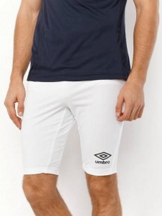 Лосины Umbro Support Short 697787 (002) мужские белые