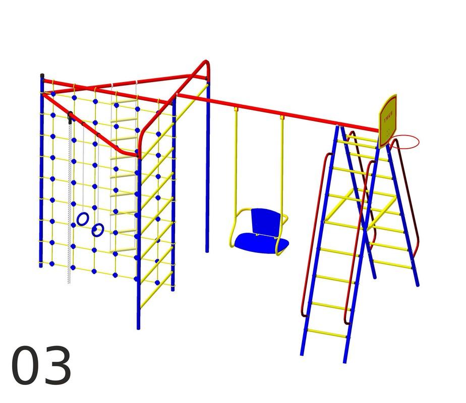 Детский спортивный комплекс Пионер Стрела-03