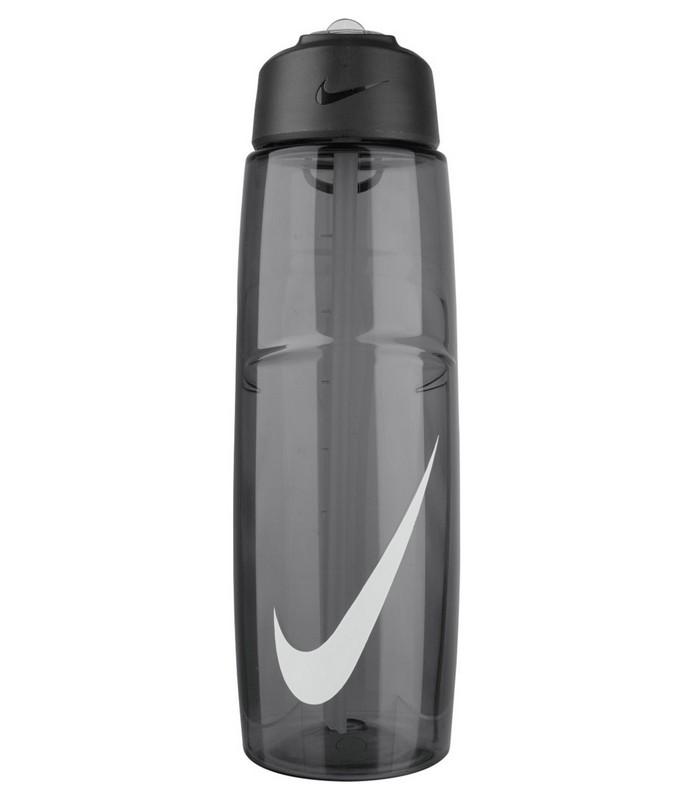 Бутылка для воды Nike T1 Flow Swoosh Water Bottle 16oz Anthracite/White 473мл бутылка для воды oem 480 16oz folding water bottle 480ml