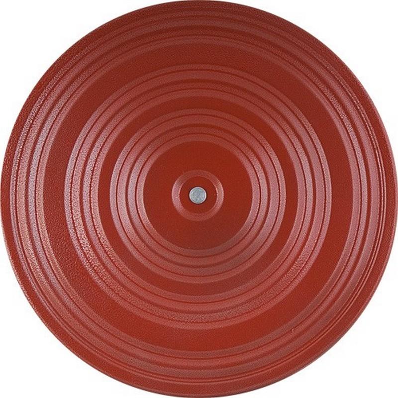 Диск здоровья металл 28 см, красный/оранжевый от Дом Спорта