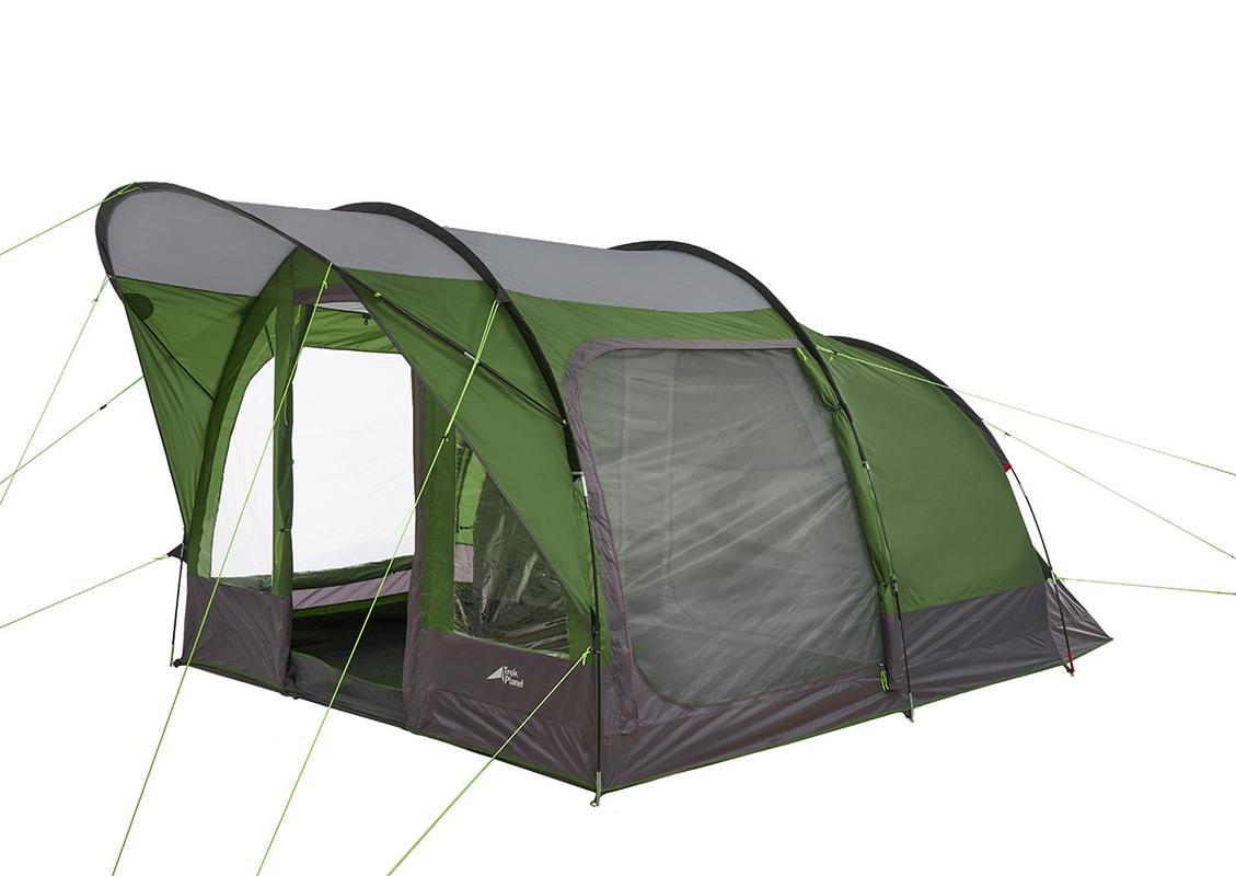 Палатка Trek Planet 70244 Siena Lux 4, зеленый,  - купить со скидкой