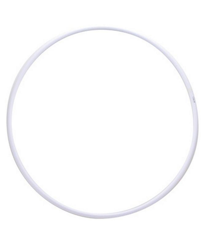 Обруч для художественной гимнастики 75 см ЭНСО PRO белый