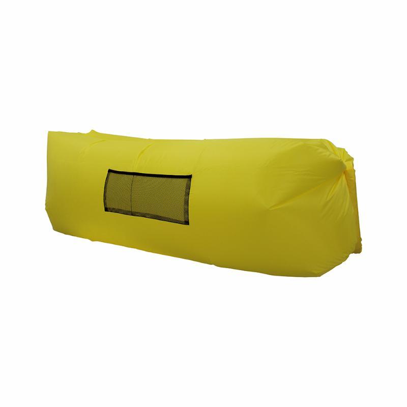 Надувной лежак Lamzac желтый